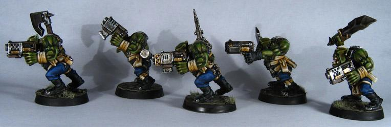 Assault On Black Reach, Boys, Orks