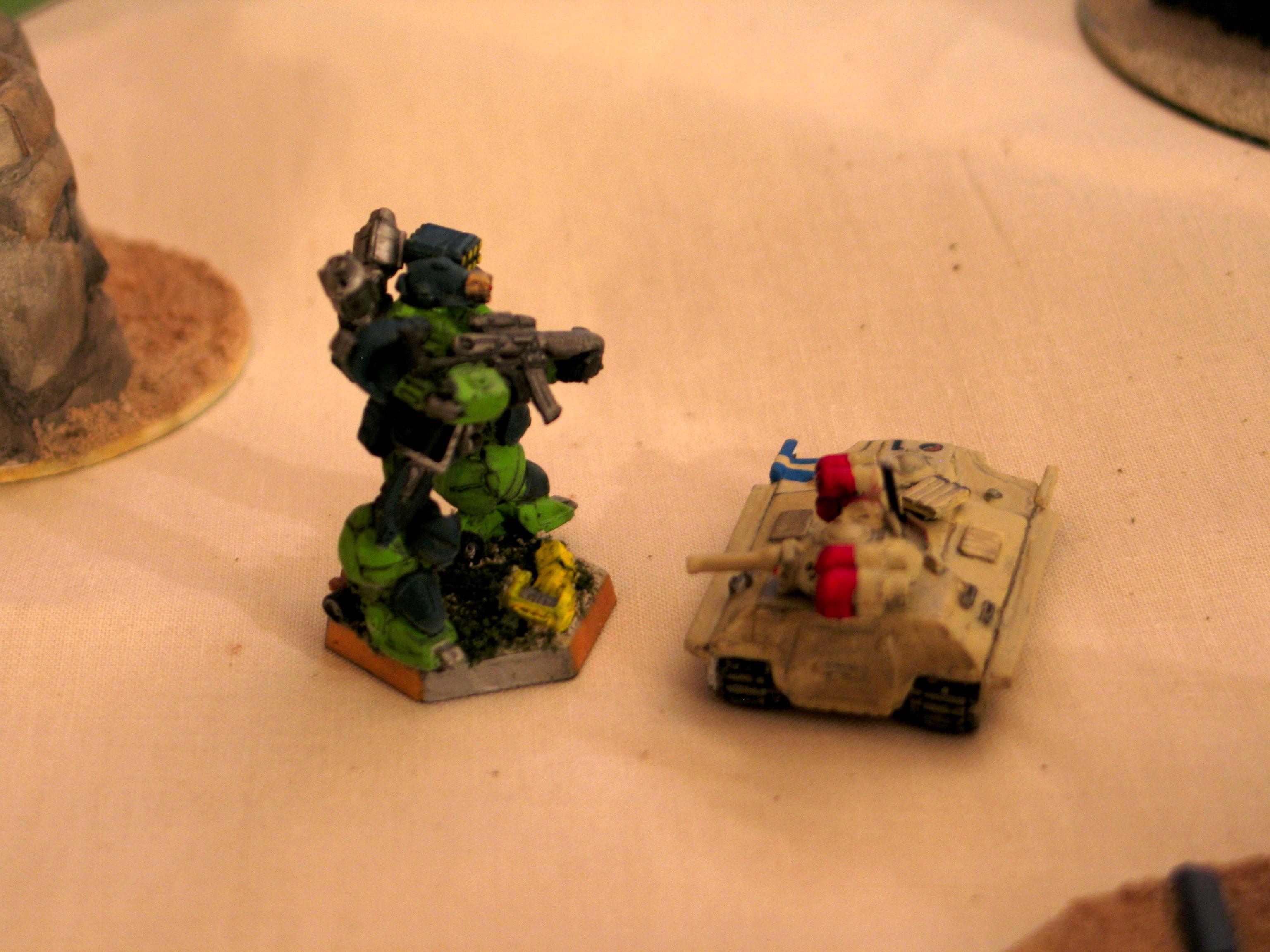 Battle Report, Black Mamba, Heavy Gear, Tank