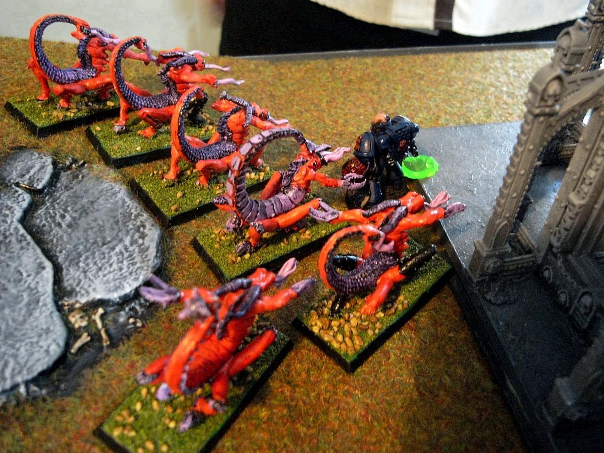 Battle, Fiends, Slaanesh, Terrain