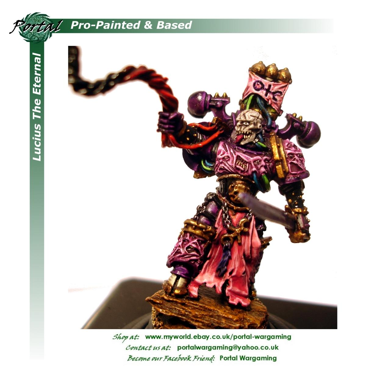Chaos Space Marines, Emperor's Children, Pro-based, Pro-painted, Warhammer 40,000