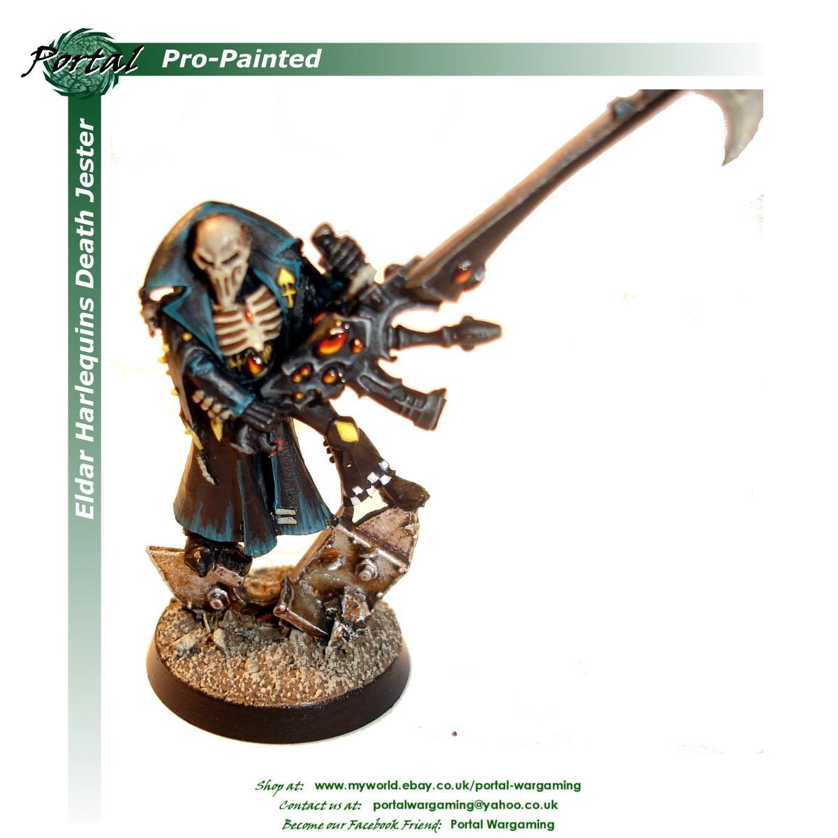Eldar, Harlequins, Pro-painted, Warhammer 40,000