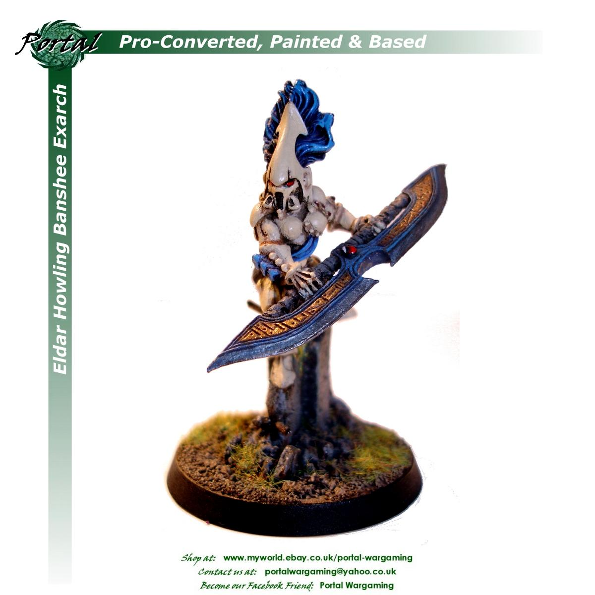 Eldar, Pro-based, Pro-converted, Pro-painted, Warhammer 40,000