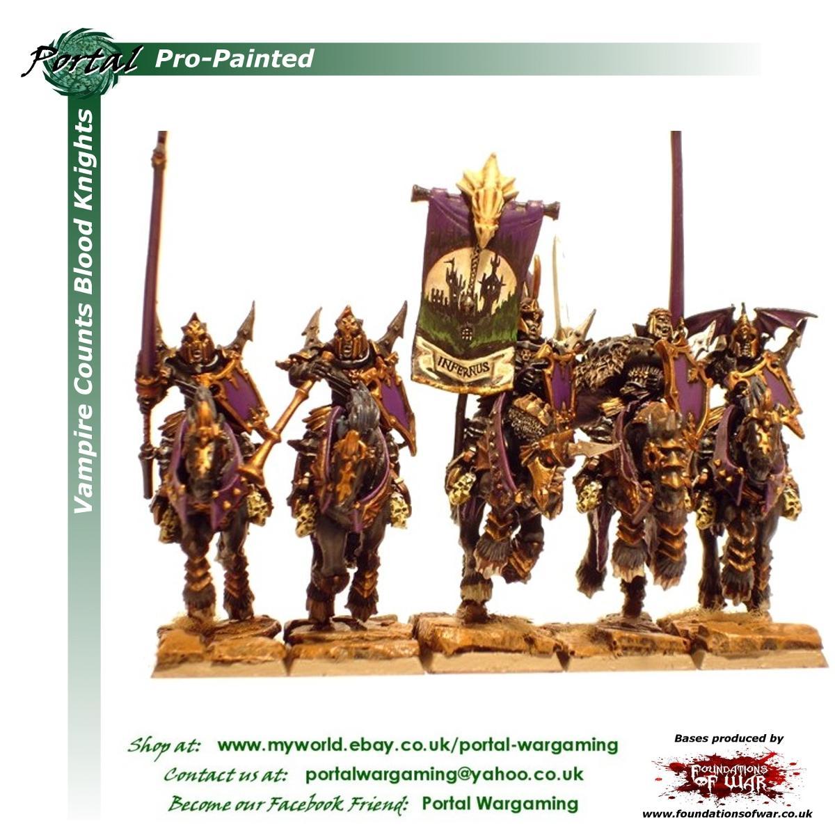 Pro-painted, Vampire Counts, Warhammer Fantasy, Wfb