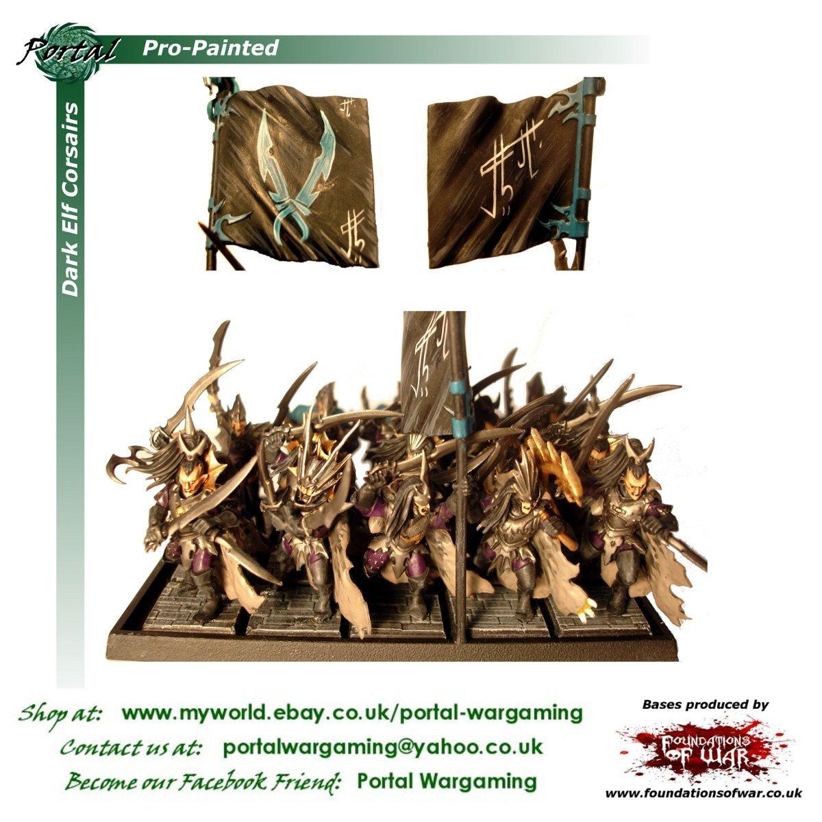 Dark Elves, Freehand, Pro-painted, Warhammer Fantasy