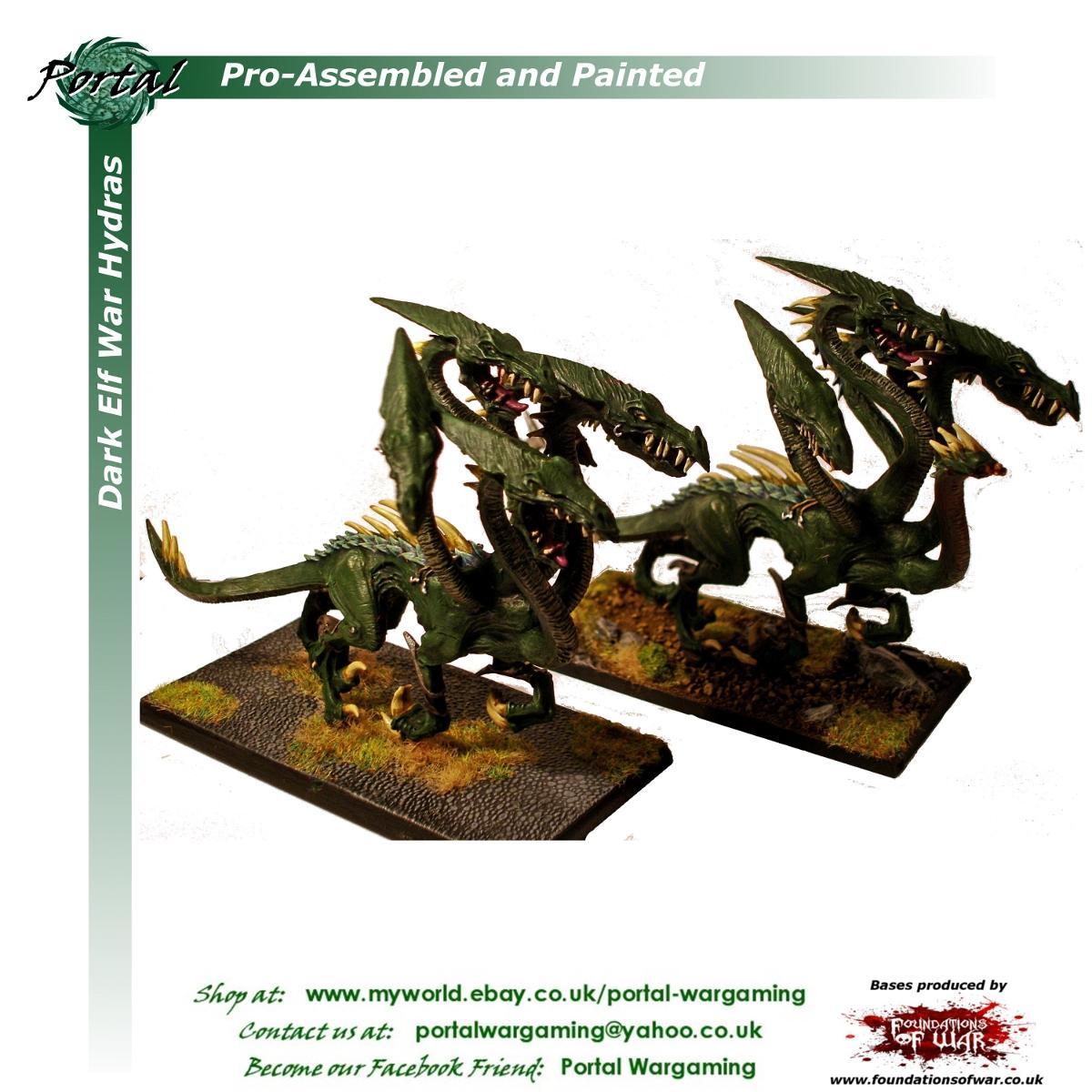 Dark Elves, Pro-painted, Warhammer Fantasy