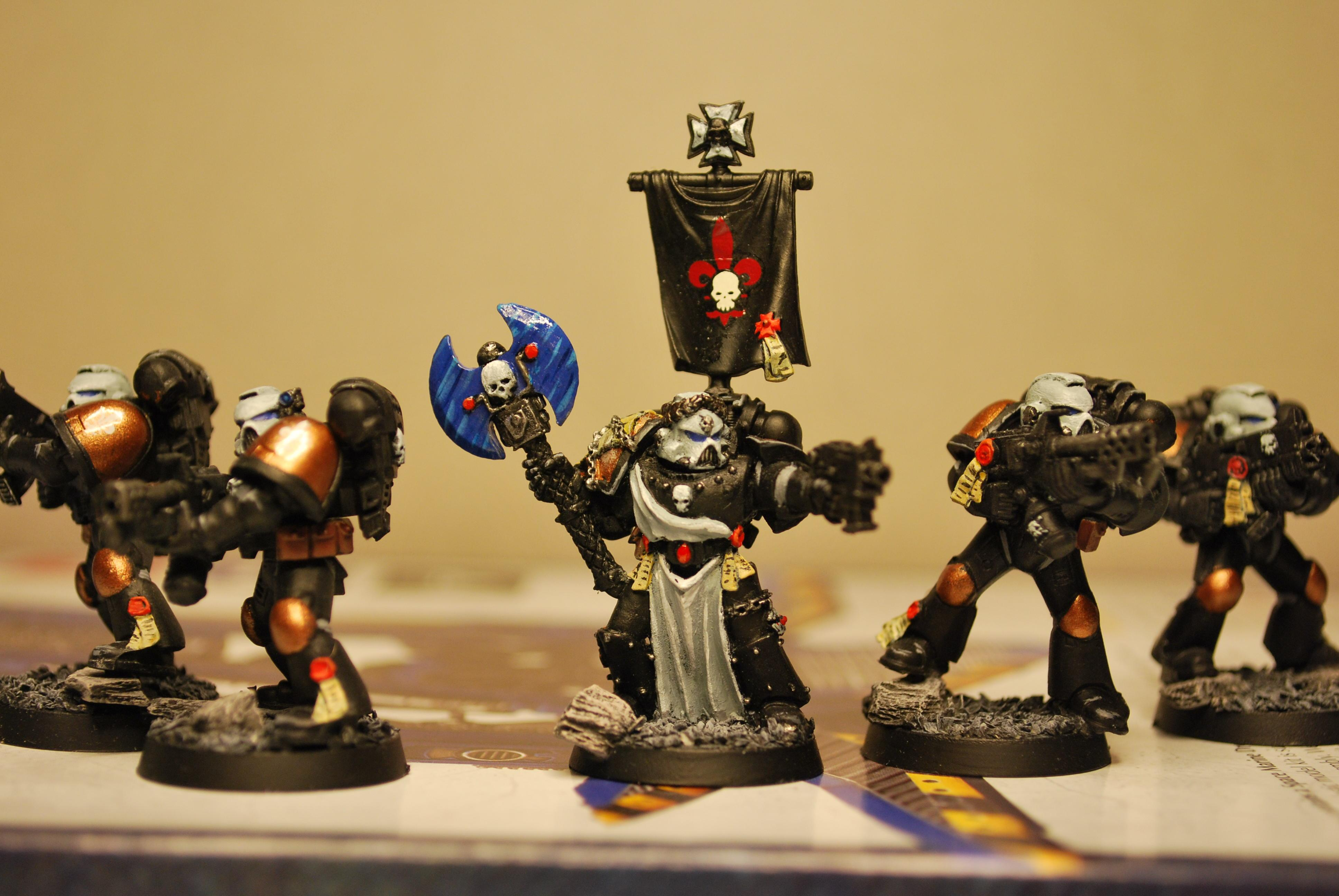 Homegrown Chapter, Space Marines, Sternguard