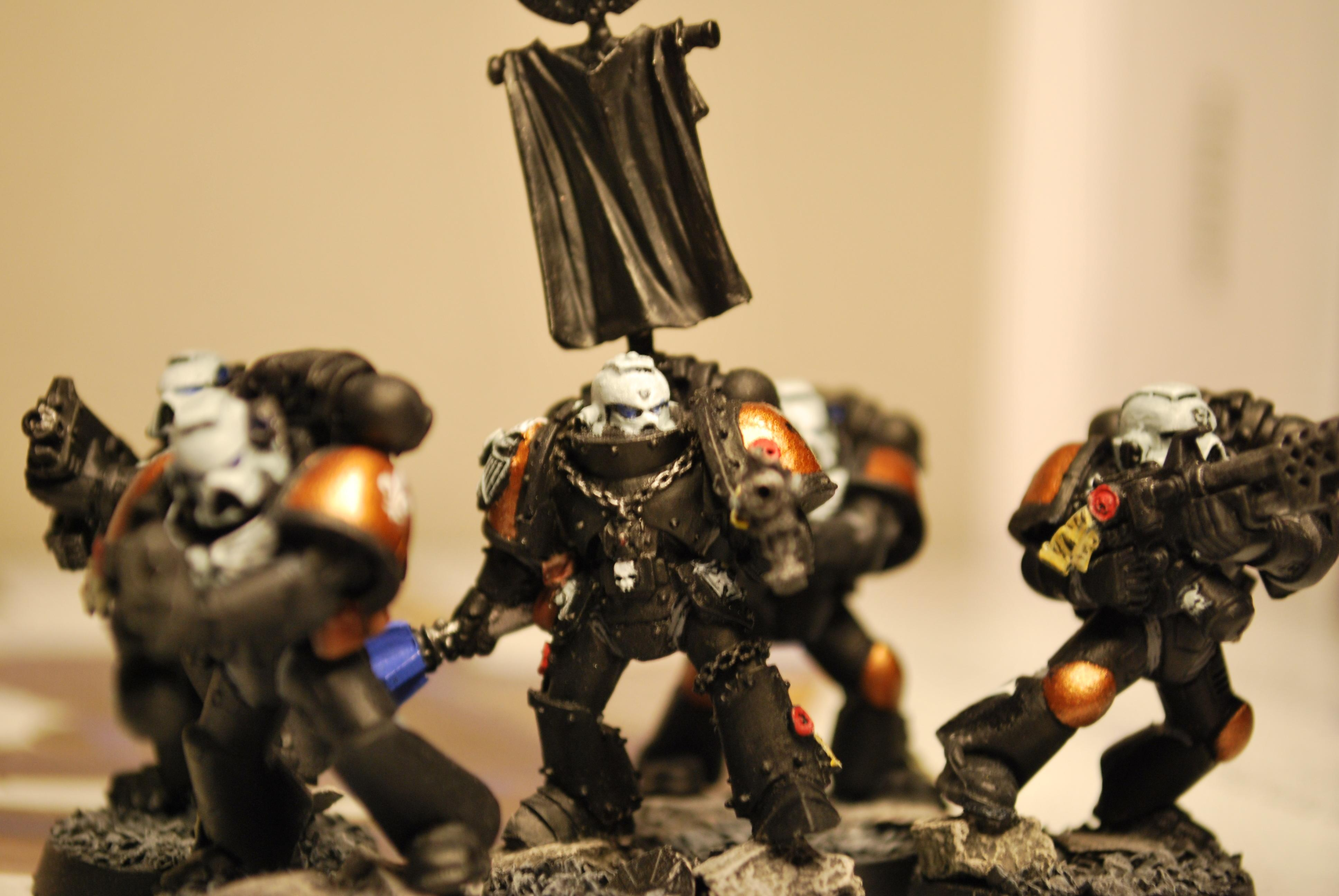 Cities Of Death, Homegrown Chapter, Space Marines, Sternguard, Work In Progress