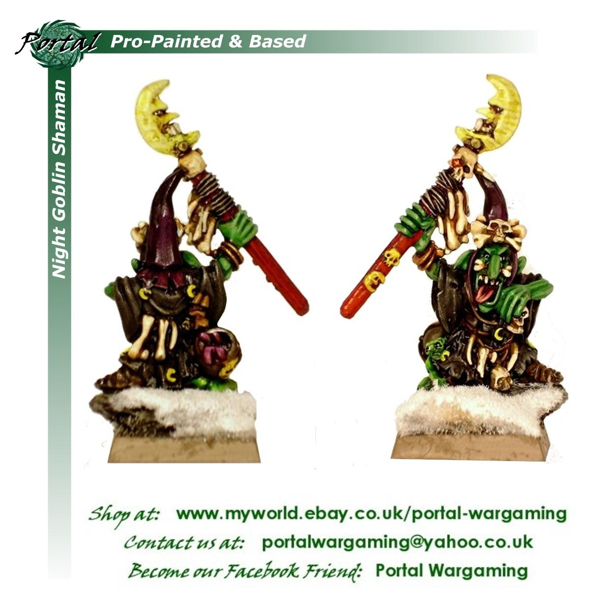 Night Goblins, Orcs & Goblins, Pro-painted, Warhammer Fantasy, Wfb