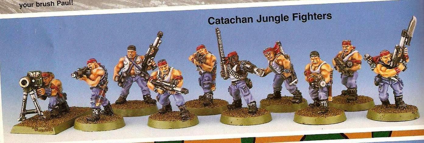 Catachan, Copyright Games Workshop, Imperial Guard, Retro Review, White Dwarf