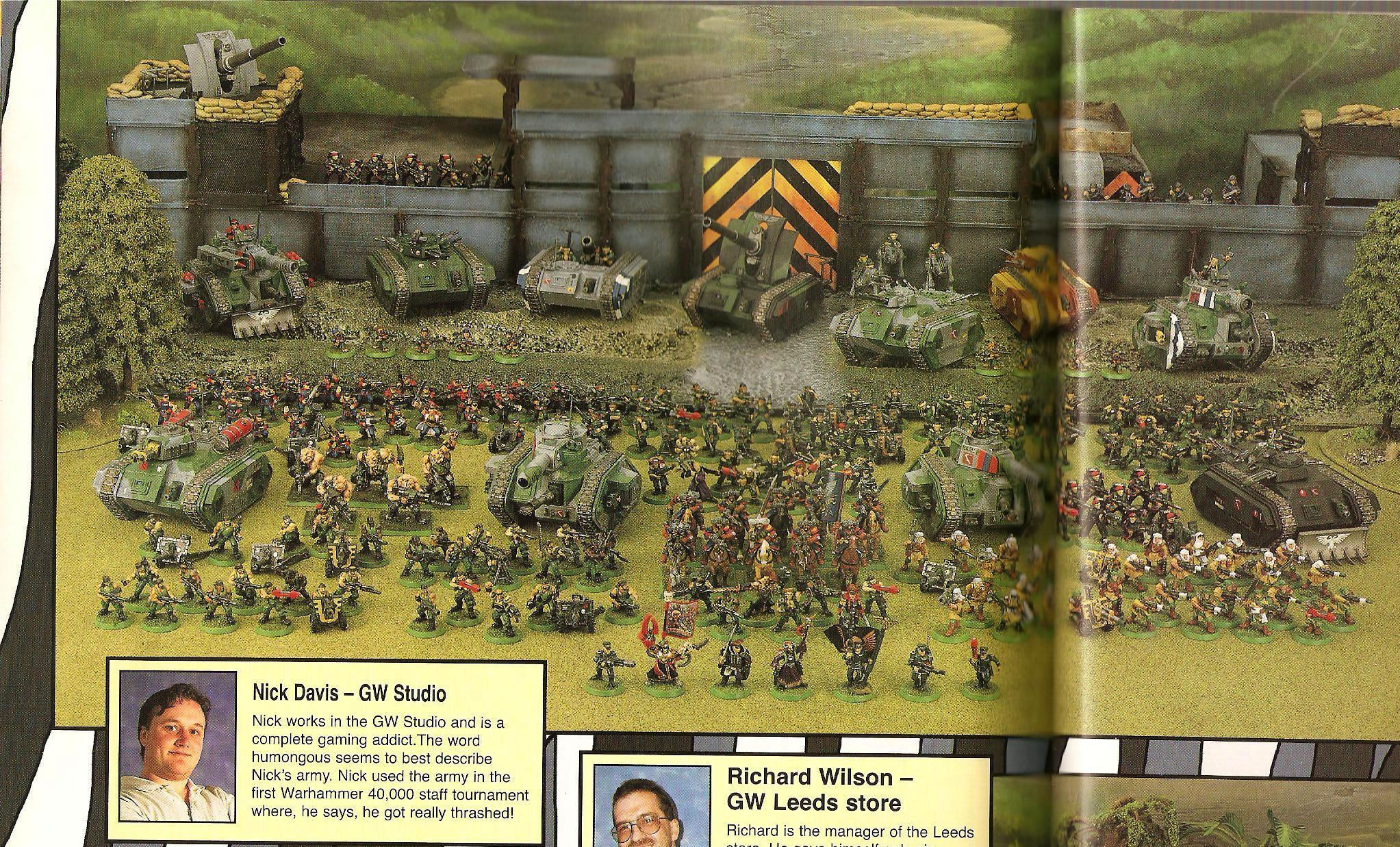 Army, Copyright Games Workshop, Fortress, Imperial Guard, Retro Review, White Dwarf