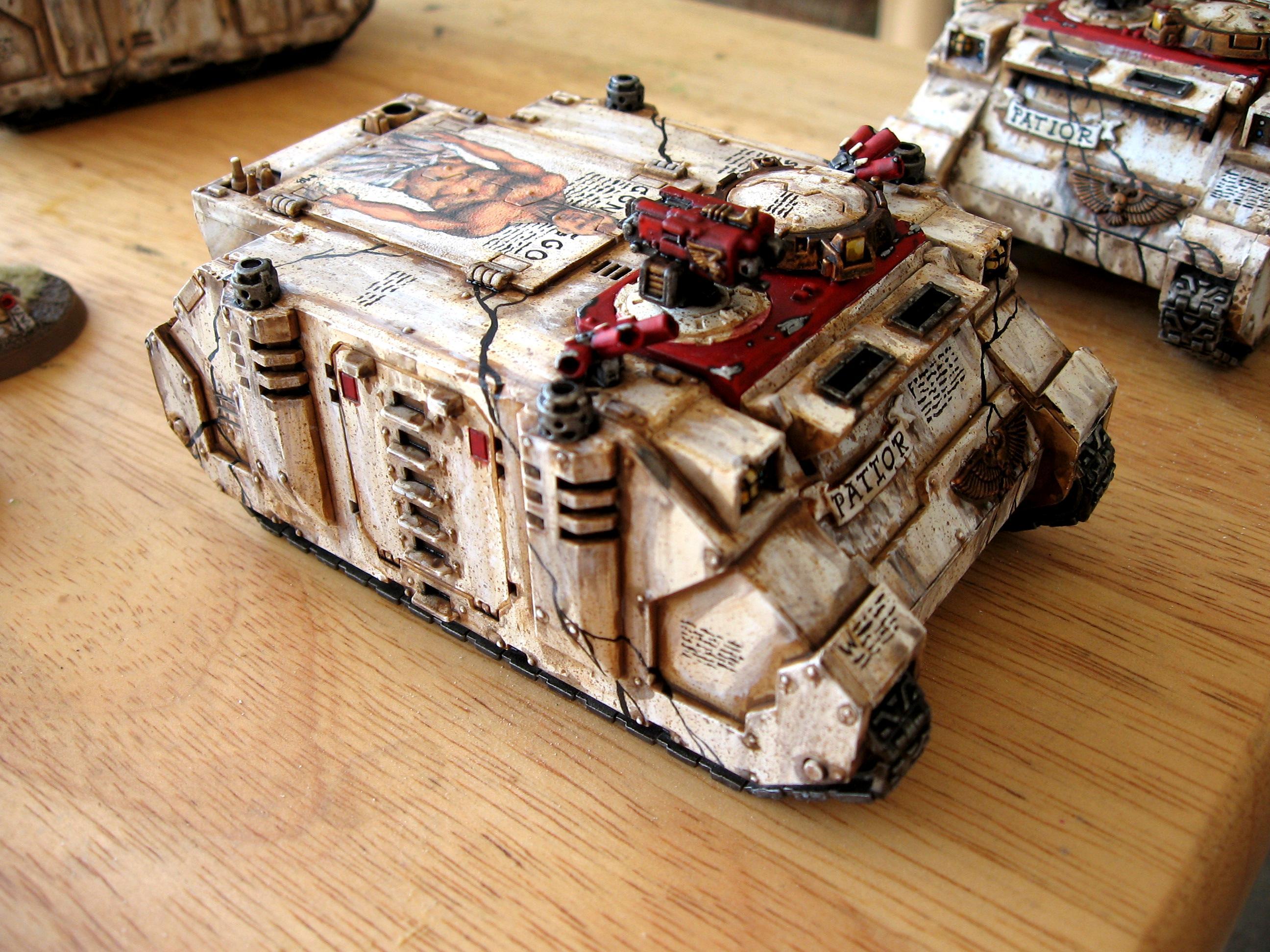 Freehand, Rhino, Space Marines, Warhammer 40,000