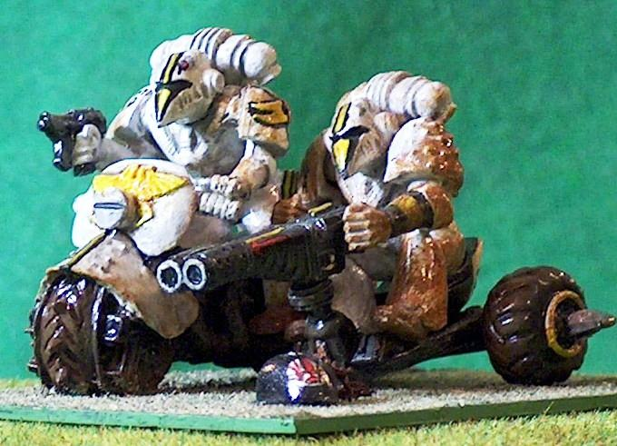 1980's, Attack Bike, Bike, Old Citadel, Old Citadel Figures, Rogue Trader, Space Marines