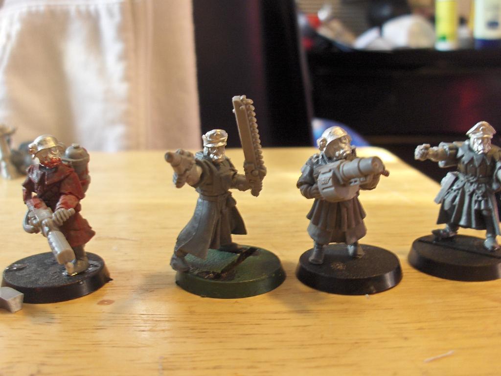 Bretonnians, Imperial Guard, Pig Iron