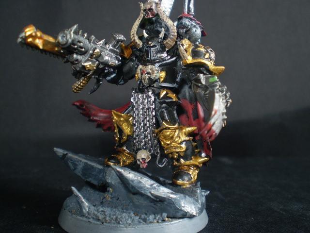 Chaos, Chaos Lord, Lord, Terminator Armor, Warhammer 40,000