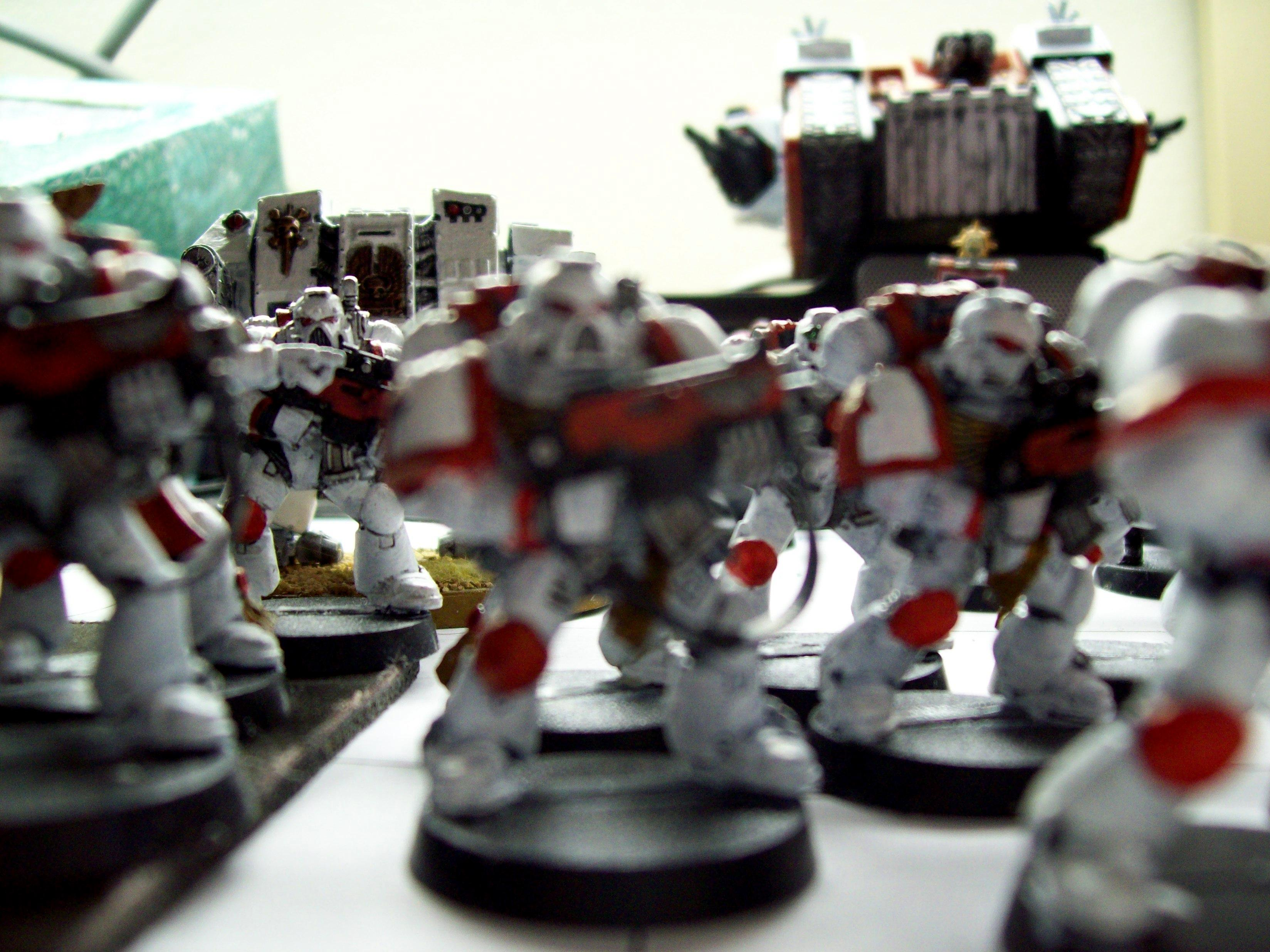 Space Marines, Space Marine close up