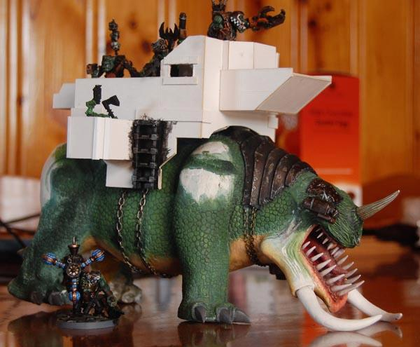 Gargantuan Squiggoth Scratch Built Ork Warhammer 40k 40000