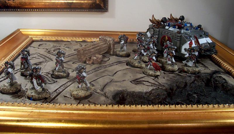 Battle Sisters, Display, Rhino, Sisters Of Battle