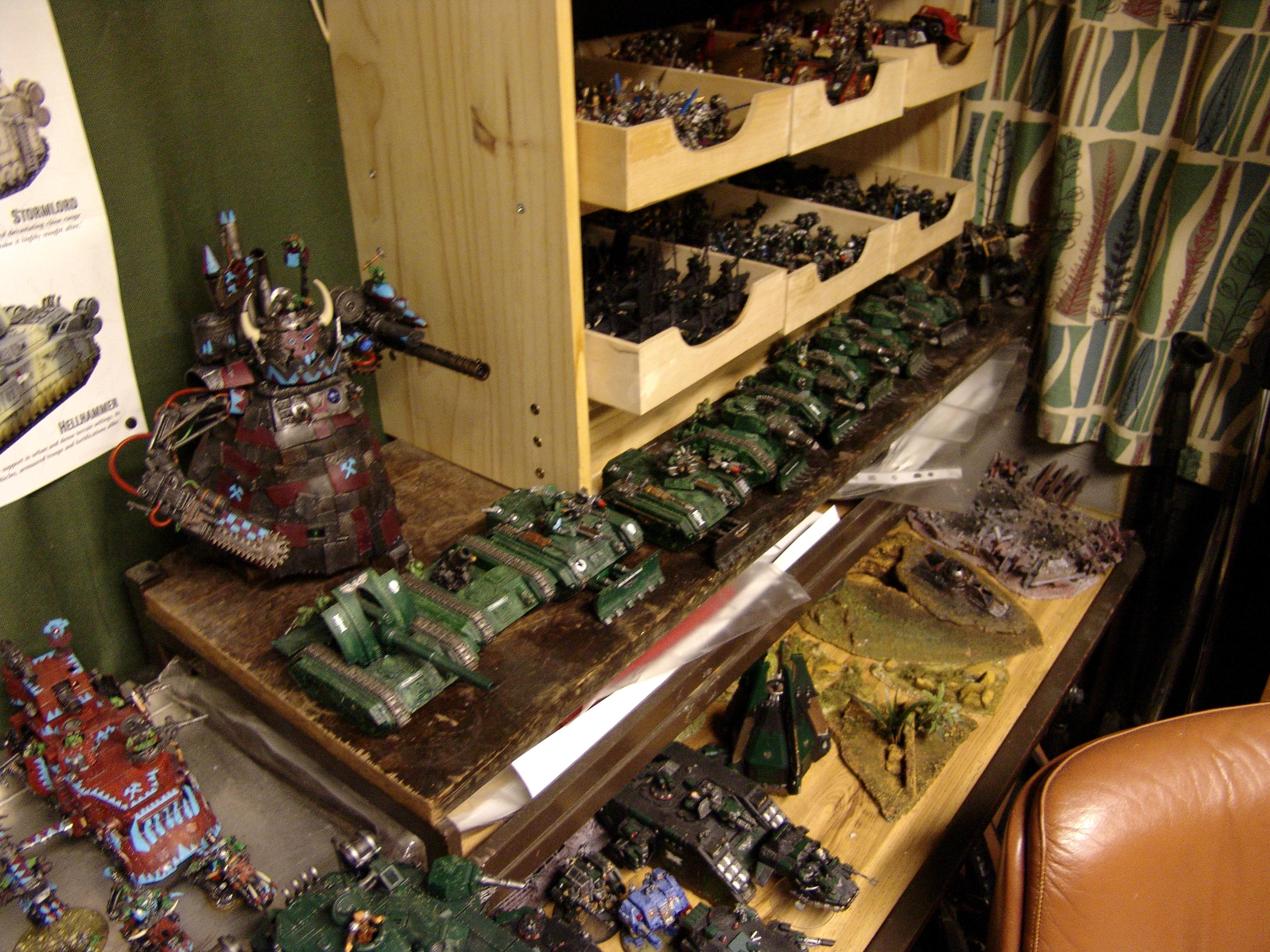Terrain, Keep your armies organised in A4 file trays