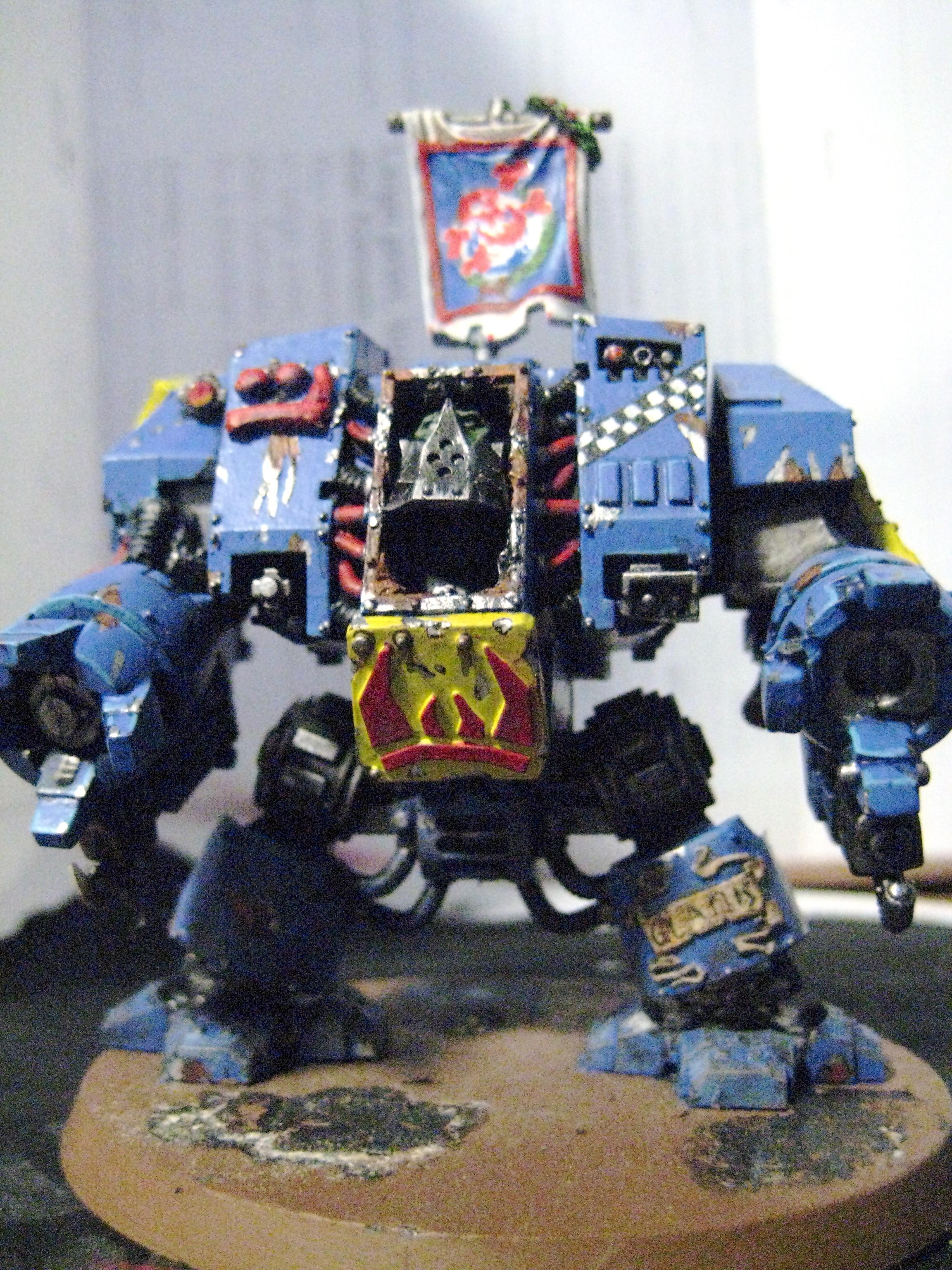 Deff, Dreadnought, Looted, Orks