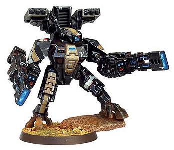 Battlesuit, Desert Camo, Tau, Warhammer 40,000