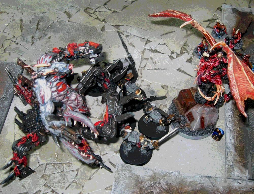 Battle Report, Daemons, Demonhunters