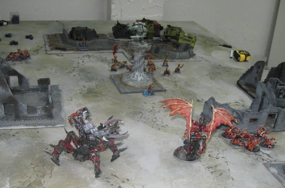 Battle Report, Daemons, Demonhunters
