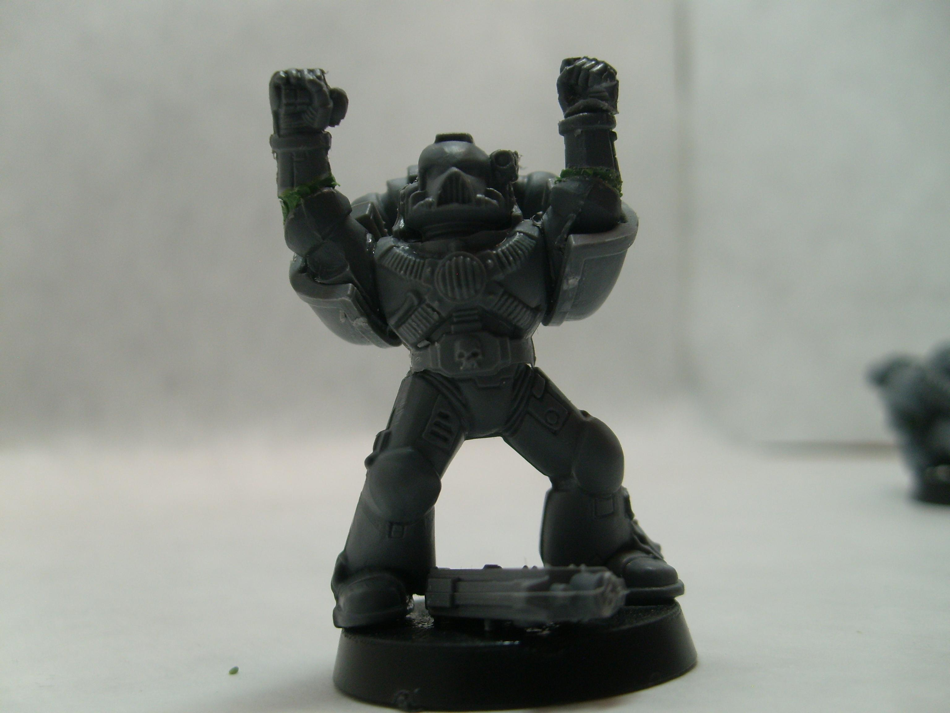 Victory pose