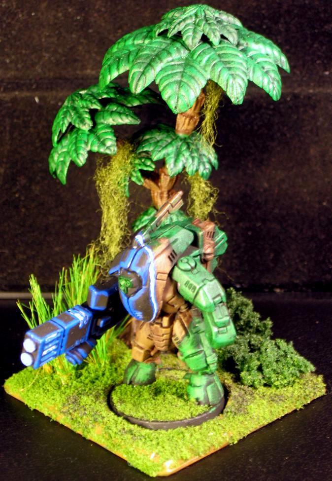 Dakka Painting Challenge, Jungle Warfare, Stealth Suit, Tau