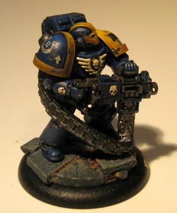 Pre-heresy, Space Marines, True-scale, Ultramarines