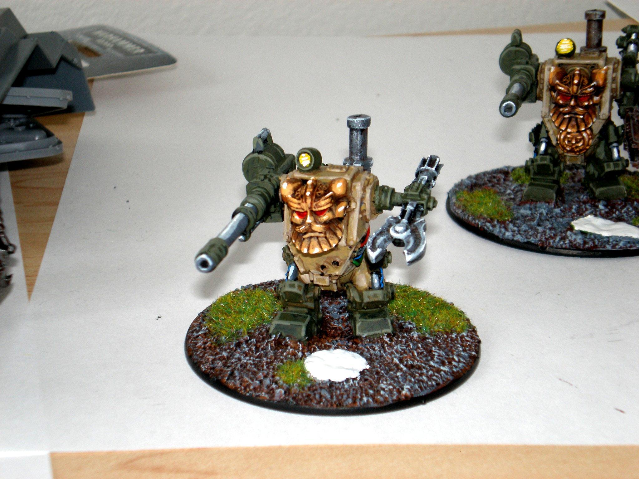 Dwarves, Imperial Guard, Sentinel, Squats