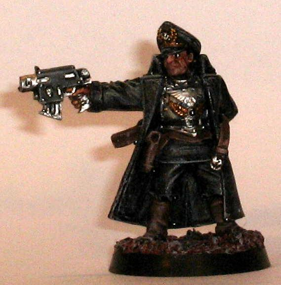 Commissar, Imperial Guard