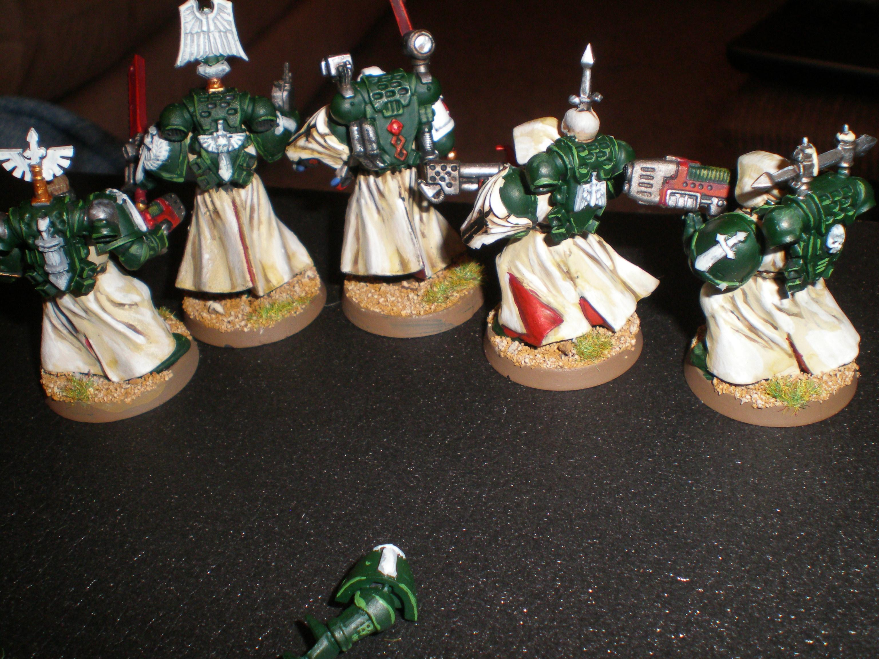 Painted, Space Marines, Squad