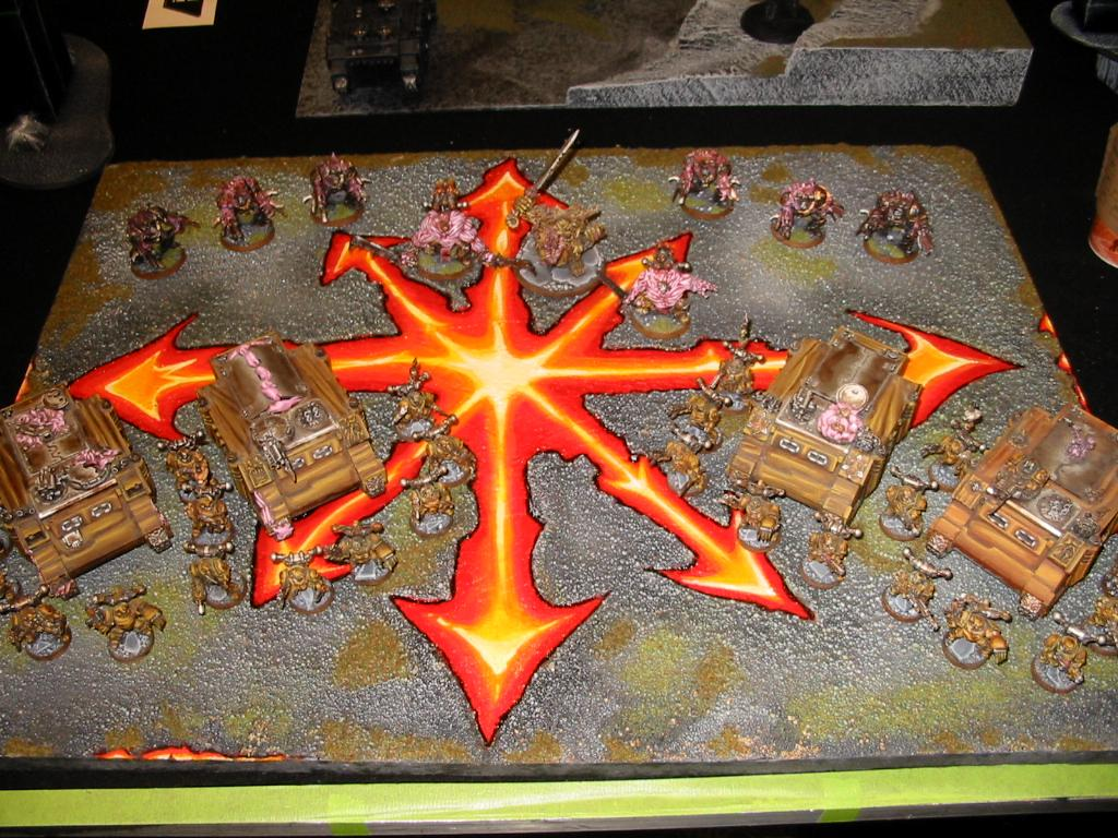 Chaos, Theme Board