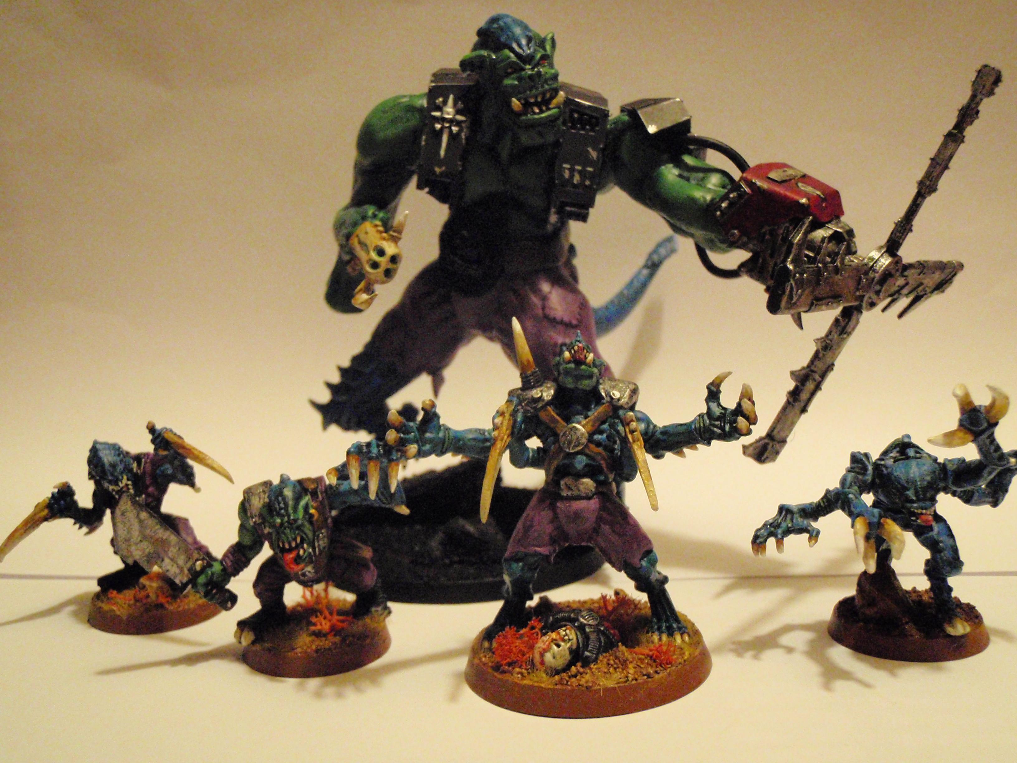 Genestealer, Genestealer Cult, Orks