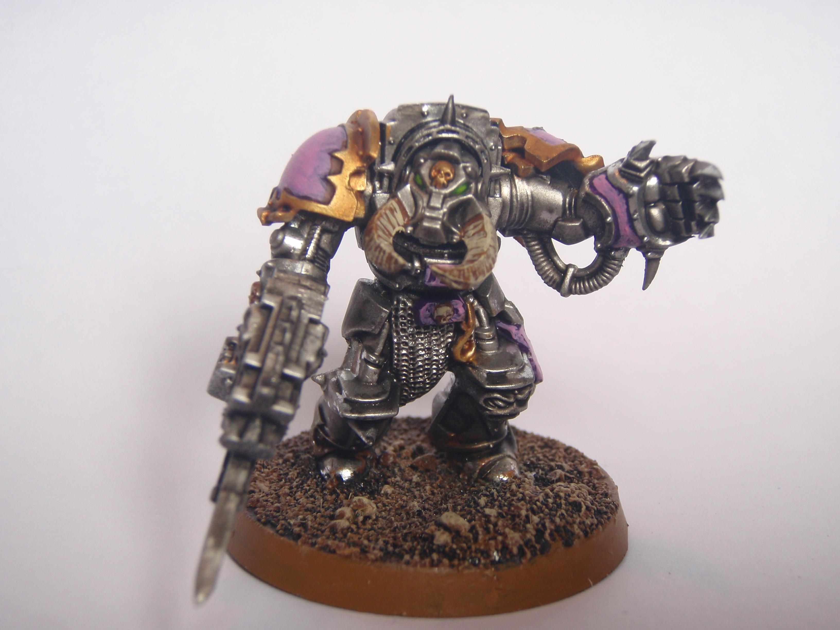 Chaos Space Marines, Emperor's Children, Terminator Armor, Warhammer 40,000