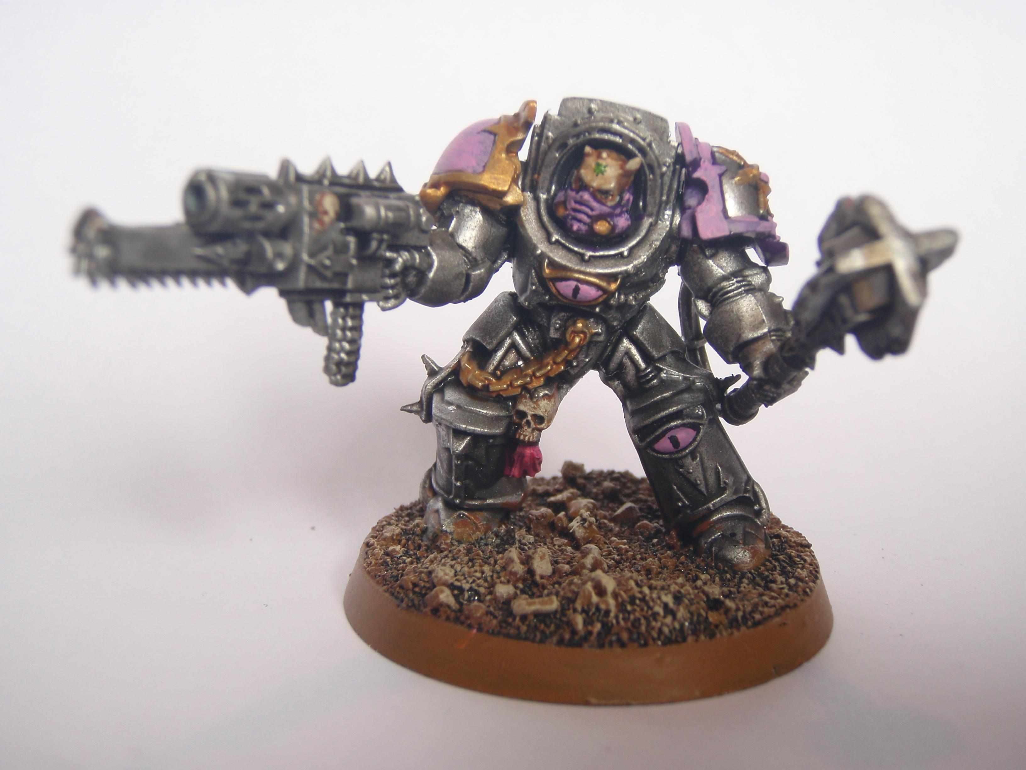 Chaos Space Marines, Terminator Armor