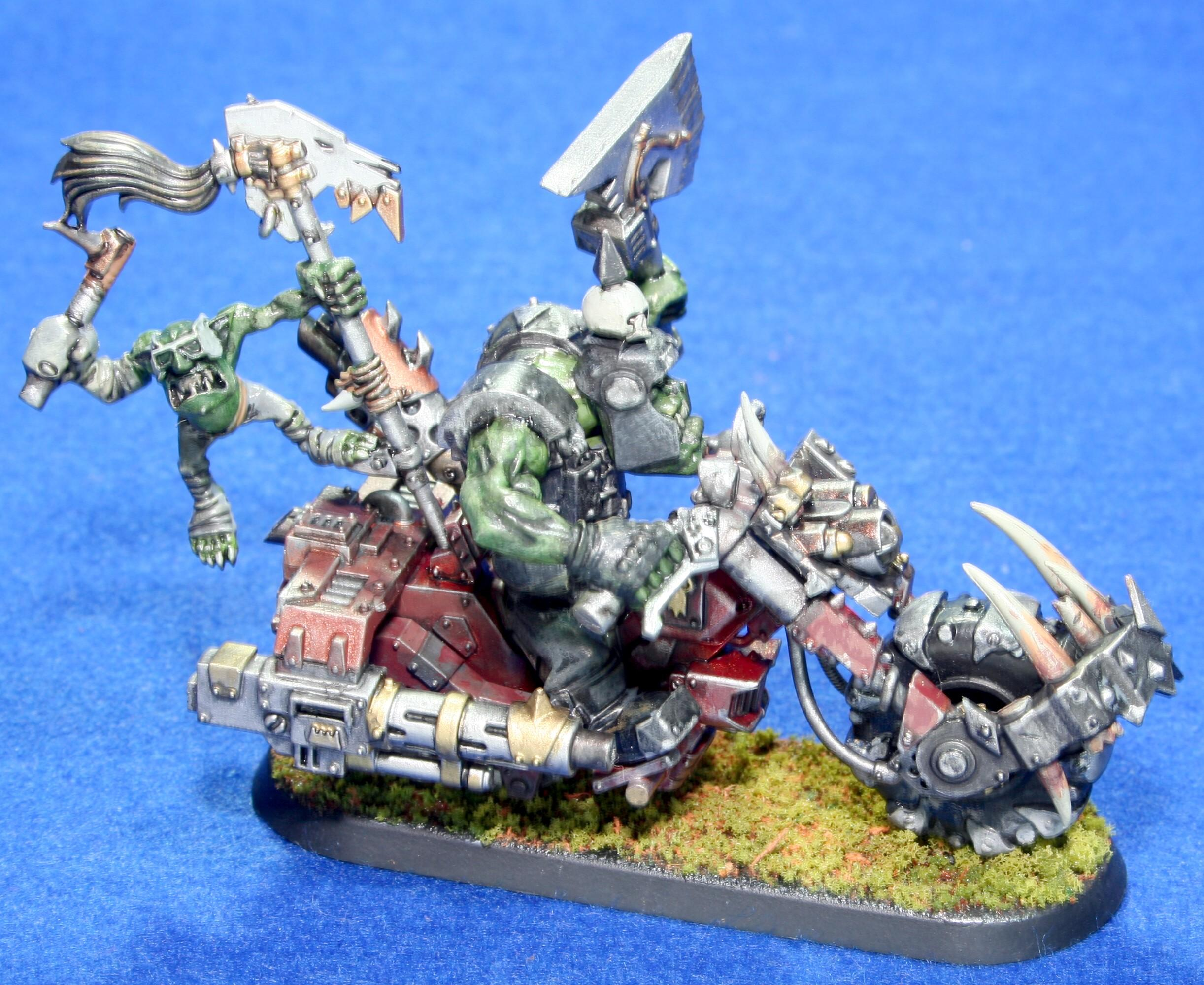 Bike, Orks, Warhammer 40,000