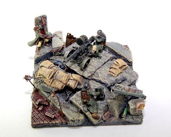 Death Korps of Krieg, Diorama, Imperial Guard, Warhammer 40,000