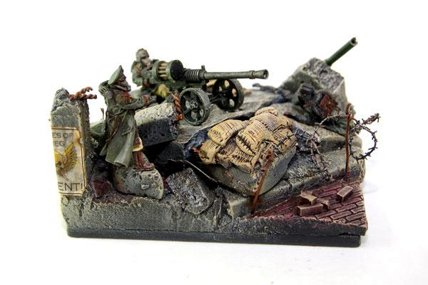 Death Korps of Krieg, Diorama, Imperial Guard, Warhammer 40,000
