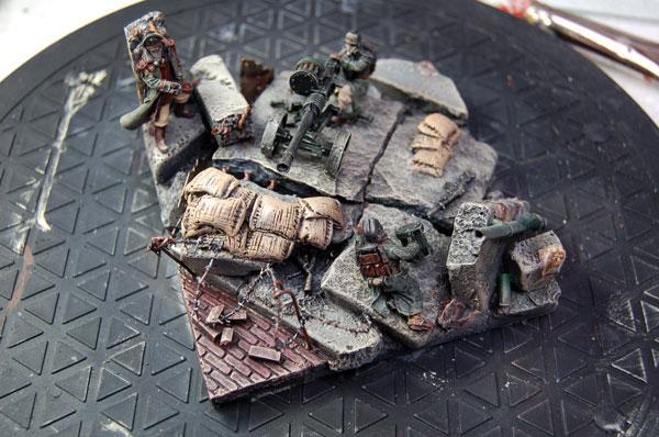 Death Korps of Krieg, Diorama, Warhammer 40,000, Work In Progress