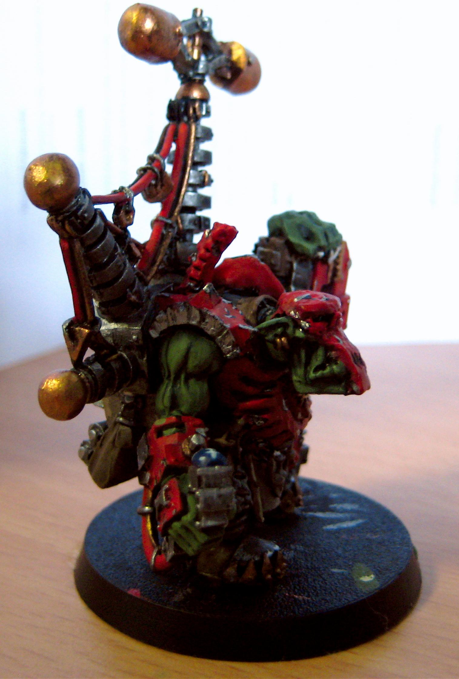 Conversion, Orks, Necron Mek (Side)