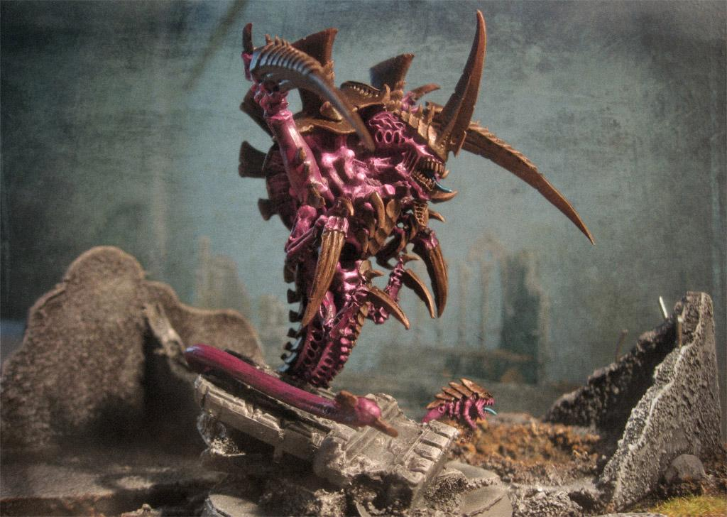 Conversion, Hive Tyrant, Photoshop, Tyranids, Warhammer 40,000