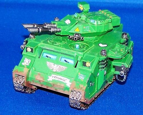 Predator, Salamanders, Space Marines, Warhammer 40,000