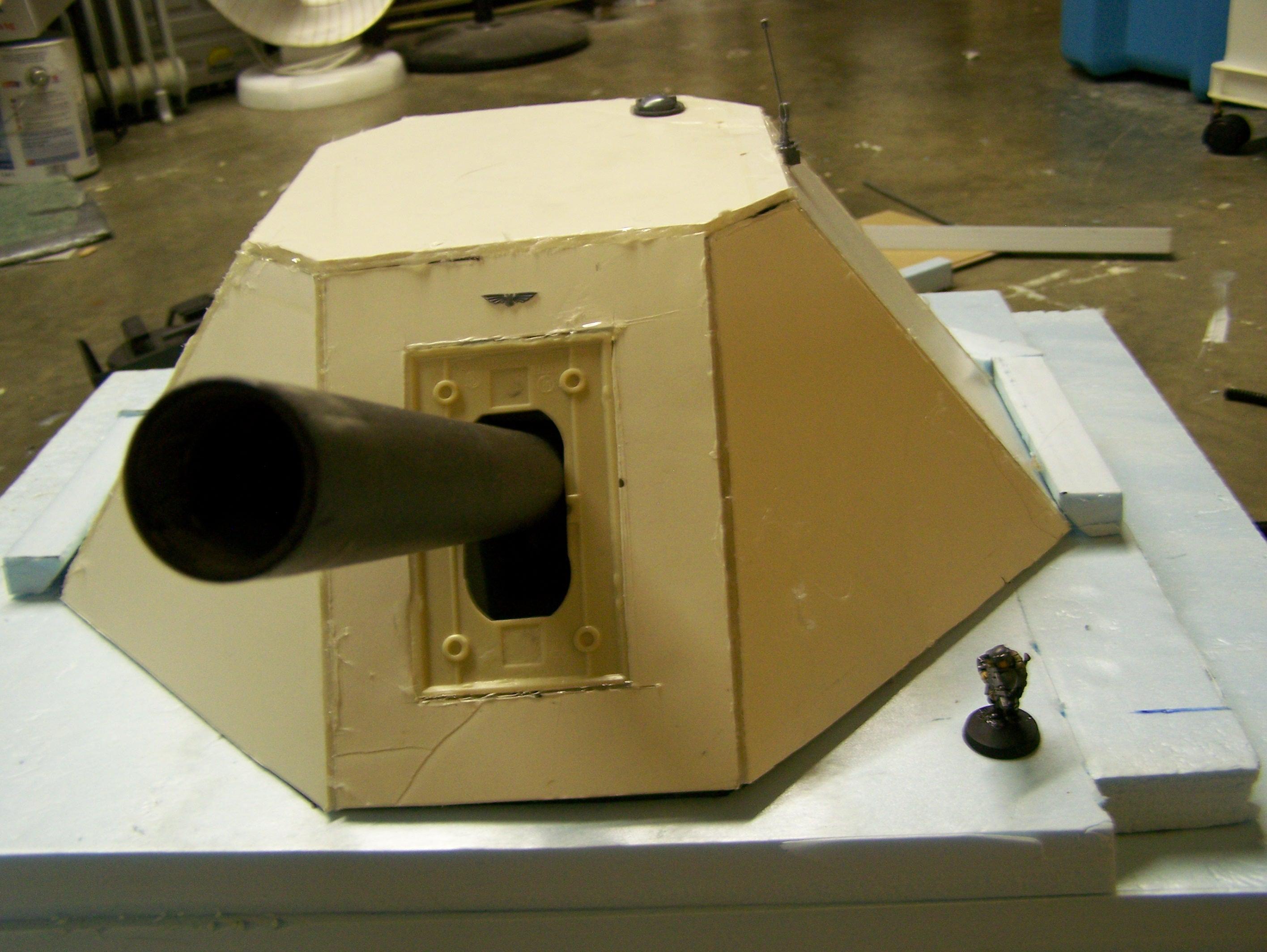 Work In Progress, WIP - Hilltop cannon
