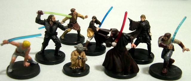 Jedi Academy, Miniatures, Prepainted, Star Wars