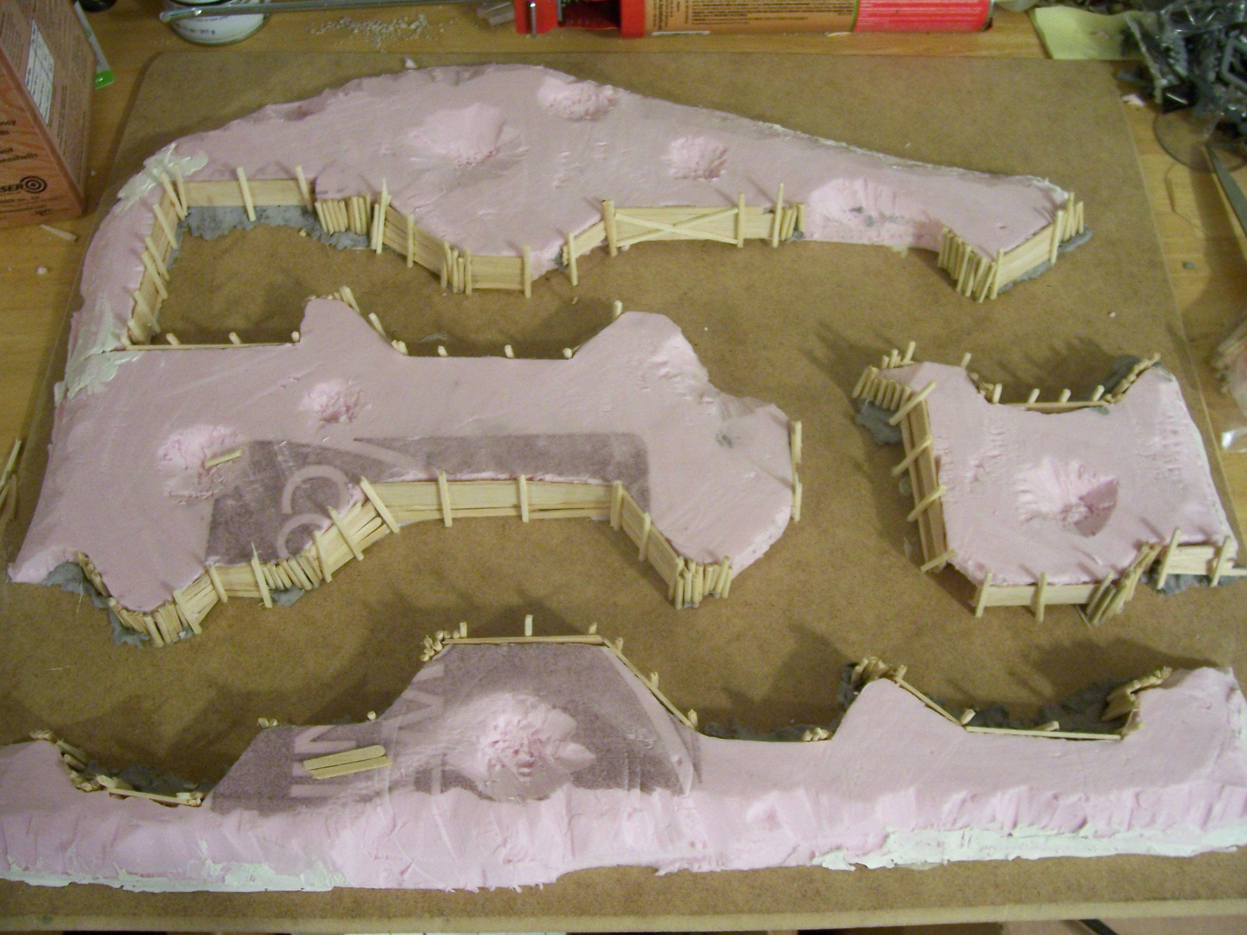 49k, Terrain, Trenches