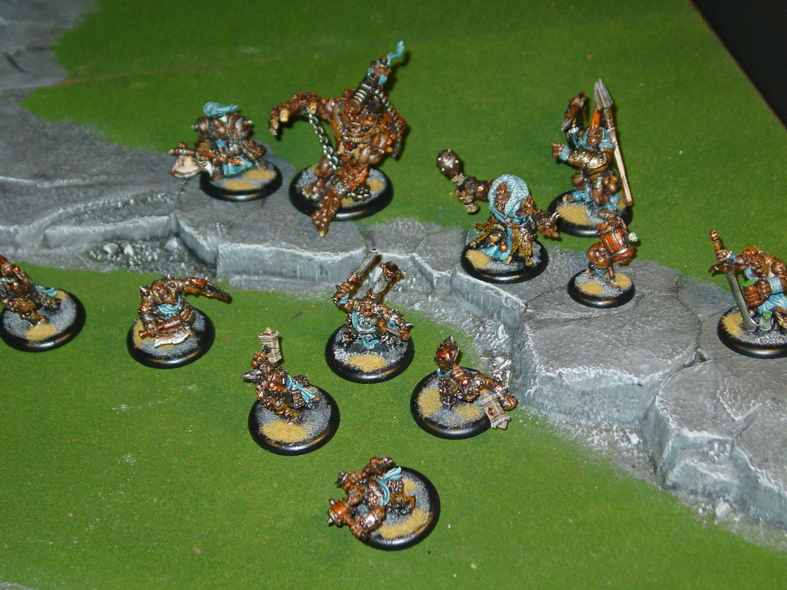Trollbloods, Warmachine