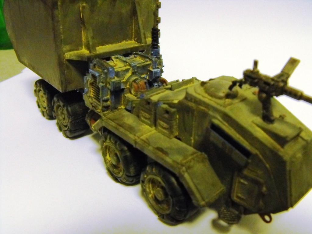 Conversion, Necromunda, Truck