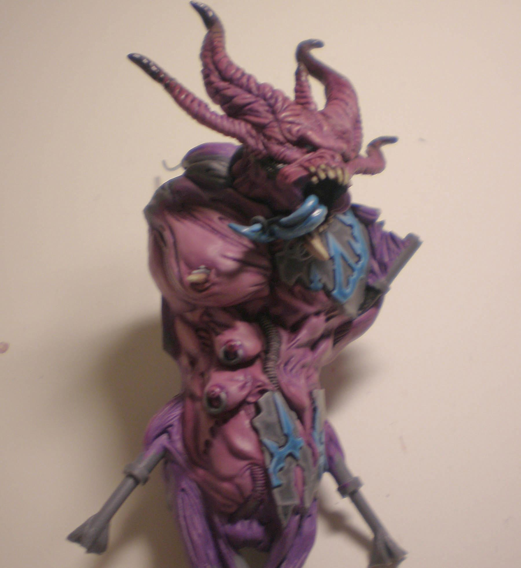 Slaanesh, Soul Grinder, Work In Progress