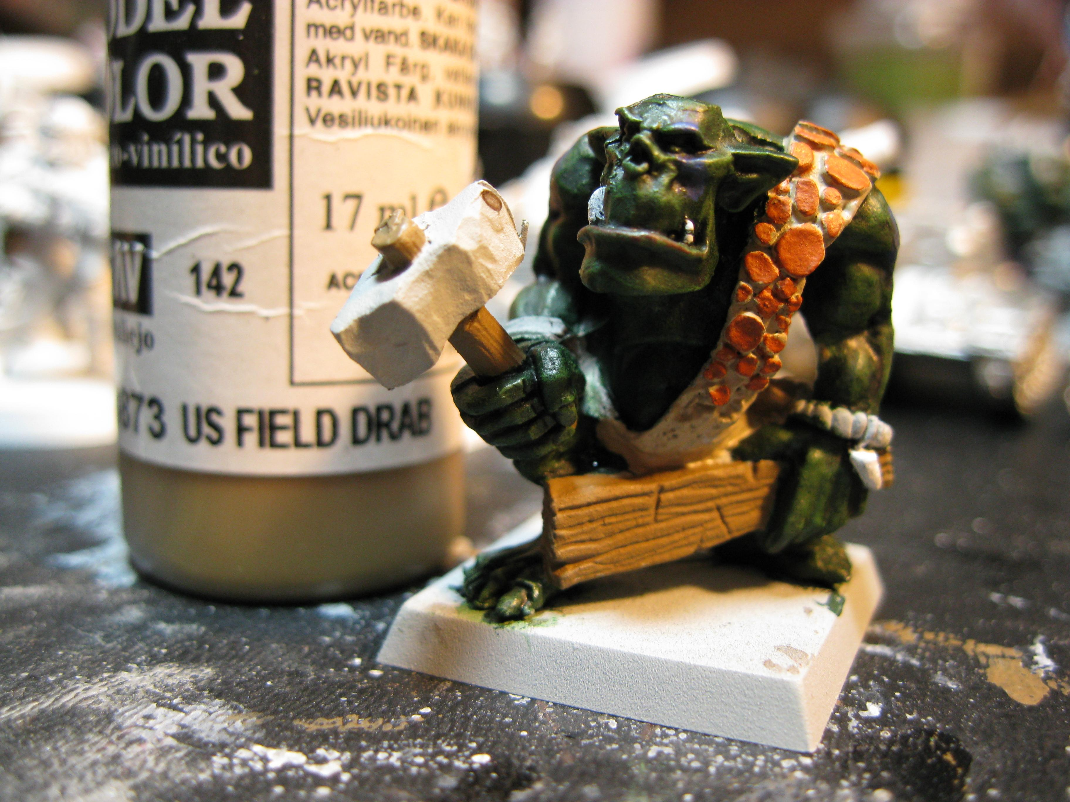 How To Paint a Savage Orc Part 11